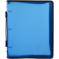 Marbig Zipper Binder A4 3R 25mm Blue