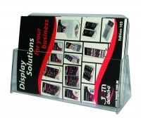 Deflecto Brochure Holder A4 Landscape Clear 77001L