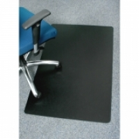 Marbig Enviro Chairmat - Small Rectangle 90x120cm Black