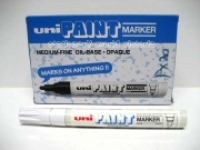 Uni Paint Marker PX20WH 2.2mm White BX12