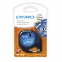 Dymo Letratag Labelling Tape PVC 91205/91335 Blue