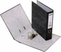 Beautone Lever Arch File Board Economy Fcap Mottly-Black 28625