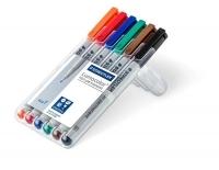 Staedtler 316 Lumocolor Pens Fine 316WP6 WLT6