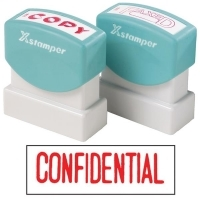 XSTAMPER STAMP - Confidential (Red) 1130 (5011300)