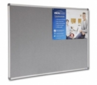 Visionchart Corporate Felt Pinboard 1800 x 1200 Grey