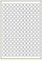 Custom Label 465 A4 BX100 154/sheet White 15 dia