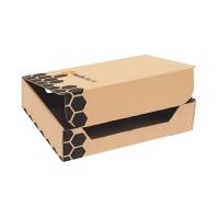 Marbig Enviro Transfer File Box 80068 A4 (250x320x80mm) PK25