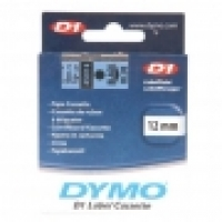 Dymo Labelling Tape D1 12mm x 7M 45016 Black on Blue