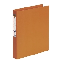 Marbig Ring Binder A4 25mm 2R 25mm PE Linen Orange