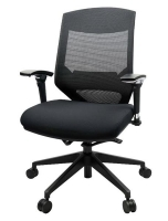 Vogue Mesh Mid Back Office Chair W04M Black