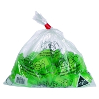 Kevron Key Tags - ID30 Giant Clicktags PK25 Fluoro Green