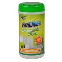 Italplast EaziWipes Antibacterial Disposable Wipes i464 Tub 60