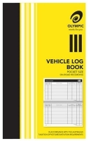 OLYMPIC vehicle log book 64 pages 180 x 110mm