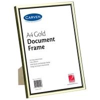 Carven Document Frames A4 Gold BX6 QFWDGLDA4