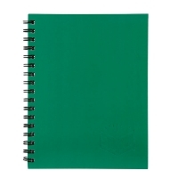 Spirax Notebook 512 Hardcover A4 200page PK5 Green