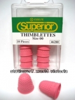 Esselte Superior Thimblette Thumb Grip No 00 (Extra small) Pink