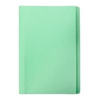 Marbig Manilla Folders Coloured Fcap PK20 Lt Green