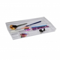 ITALPLAST DRAWER TIDY i70 (Tinted)  Clear