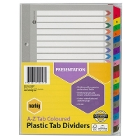 Divider A5 Manilla Reinforced Color A-Z Marbig 35043F