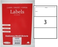 Rediform Labels Multipurpose A4 BX100 A4/3C (3/sh) 210x99