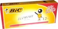 BIC Economy Ballpoint Pens BX12 Medium Red