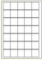 Custom Label 455 A4 BX100 35/sheet White 38x38