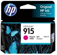 HP 915 Ink Cartridge Magenta  - 315 pages