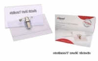 Rexel Name Convention Badge Pin & Clip BX50 90050