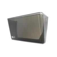 Deflecto Stackable Wall Pocket - Foolscap Smoke 74302