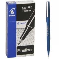 Pilot Fineliner Marking Pen (SW-PPF) 600402 (0.4mm) BX12 Blue