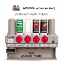 Aroma Cup Dispenser AC600S 1 cup+4 ingredient+1 teabag Disp