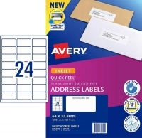 Avery Inkjet Label J8159 PK50 24/sheet