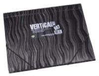 Foldermate 687 Document Wallet A4 Action Case Vertical Art Black