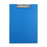 Bantex Clipboard Clipfolder A4 PVC 4240-62 Blueberry