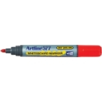 Artline Whiteboard Marker 577 Bullet Point Red