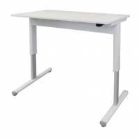 Airo Height Adjustable Desk 1200X700 White Top