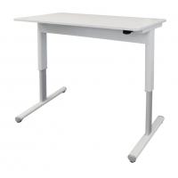 Airo Height Adjustable Desk 1200X700 White Top