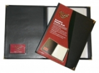 Waterville W94A4 Executive Display Book 40pocket Black