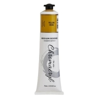 Chromacryl Student Acrylic Paint 75ml Yellow Oxide