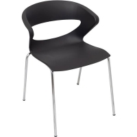 Rapidline Taurus Stacking Chair Black