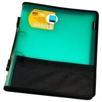 Foldermate Compendium A4 Zipper Binder 860G 2Ring Green