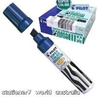 Pilot SCA-6600 Jumbo Chisel-Tip Marker 619202 Blue BX12