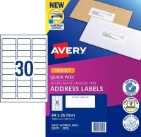 Avery Inkjet Label J8158 PK50 30/sheet