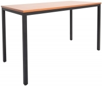Rapidline Steel Frame Drafting Height Table 1500x750x900 Beach