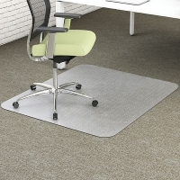 Marbig Chairmat Enviro PET Large Rectangle 116x152cm Clear