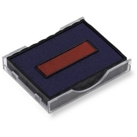 Shiny Replacement Ink Pad S400-S407 2colour (Red & Blue) S4007D2
