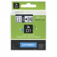 Dymo Labelling Tape D1 19mm x 7M 45803 Black on White