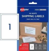 Avery Laser Label L7175 PK25 1/sheet A6 size sheet 105x148mm