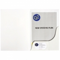 Marbig Presentation Folders A4 White Matt 1106208 BX50
