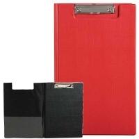 Marbig Clipboard Folder Foolscap PVC 4300503 Red